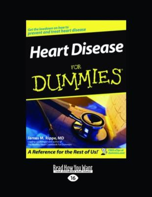 Heart Disease for Dummies (Large Print 16pt) 9781442929579