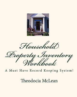 Household Property Inventory Workbook 9781449964023
