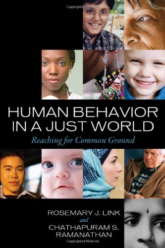 Human Behavior in a Just World: Reaching for Common Ground 9781442202917