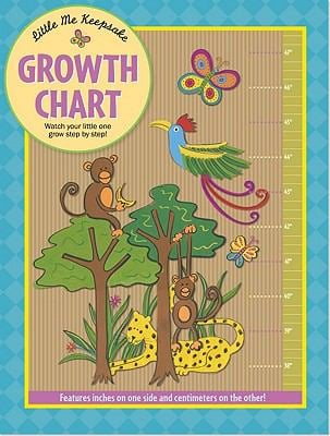 Jungle Animals Growth Chart 9781441303417