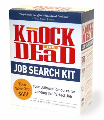 Knock 'em Dead Job Search Kit: Your Ultimate Resource for Landing the Perfect Job [With CDROM and 150 Flash Cards and Paperback Book] 9781440524721