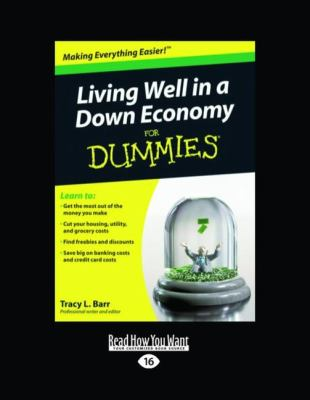Living Well in a Down Economy for Dummies (Easyread Large Edition) 9781442982376