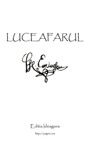 Luceafarul 9781440440793