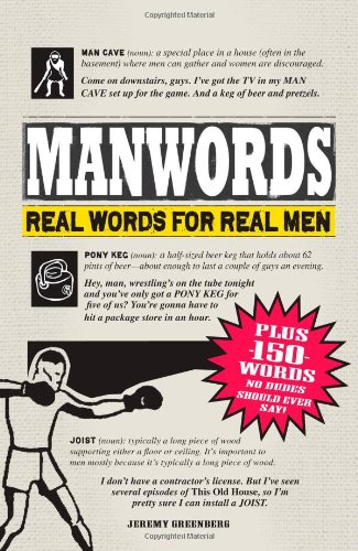 Manwords: Real Words for Real Men 9781440512230