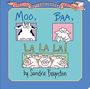 Moo, Baa, La La La!: Special 30th Anniversary Edition! 9781442454101