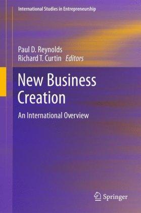 New Business Creation: An International Overview 9781441975355