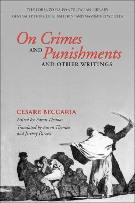 Beccaria On Crimes and Punishments