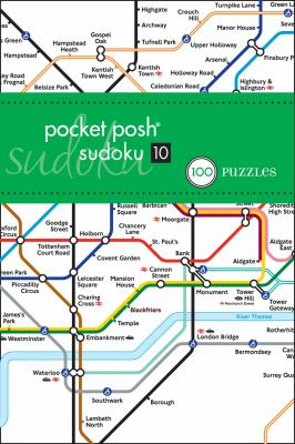 Pocket Posh Sudoku 10 London Tube Map: 100 Puzzles 9781449409340