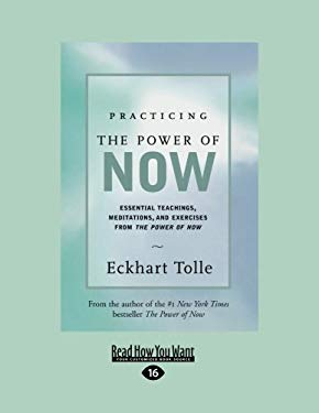 Practicing the Power of Now: Essential Teachings, Meditations, and Exercises from the Power of Now (Easyread Large Edition) 9781442965089