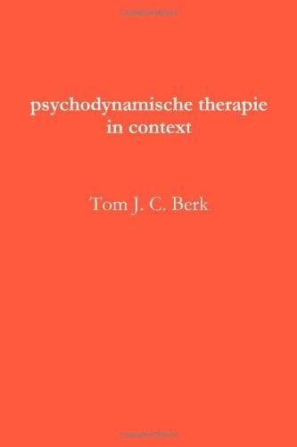 Psychodynamische Therapie in Context 9781447796084