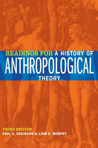 Readings for a History of Anthropological Theory 9781442600690
