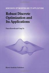 Robust Discrete Optimization and Its Applications 10980585