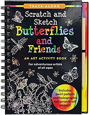Scratch & Sketch Butterflies & Friends (Trace Along)