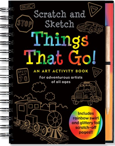 Scratch & Sketch Things That Go: An Art Activity Book for Adventurous Artists of All Ages 9781441303394