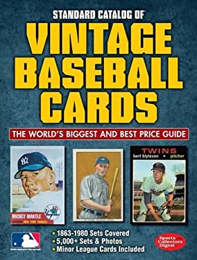 Standard Catalog of Vintage Baseball Cards 9781440232947