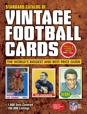 Standard Catalog of Vintage Football Cards 9781440232893