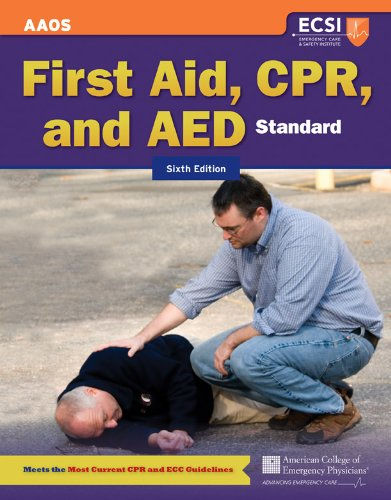 Standard First Aid, CPR, and AED 9781449609443