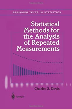 Statistical Methods for the Analysis of Repeated Measurements 9781441929761