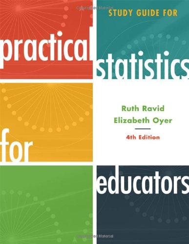 Study Guide for Practical Statistics for Educators 9781442208452