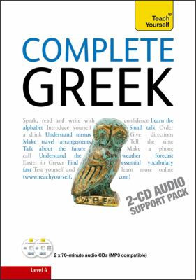 Teach Yourself Complete Greek 9781444107630
