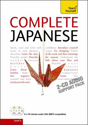 Teach Yourself Complete Japanese 9781444103960