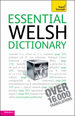 Essential Welsh Dictionary: Welsh-English, English-Welsh 9781444104059