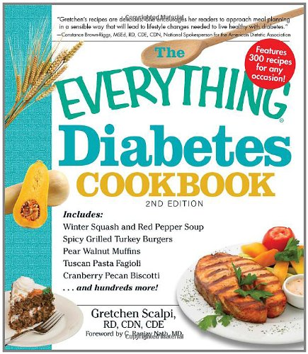 The Everything Diabetes Cookbook 9781440501548