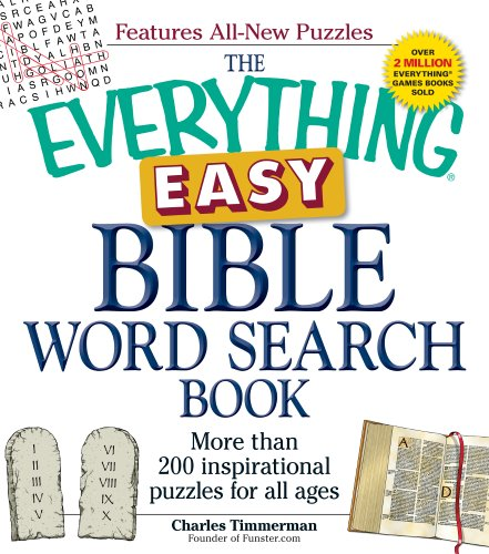 The Everything Easy Bible Word Search Book: More Than 200 Inspirational Puzzles for All Ages 9781440542695