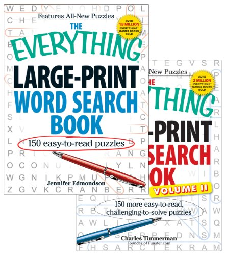 The Everything Large Print Word Search Bundle [With Paperback Book] 9781440525186
