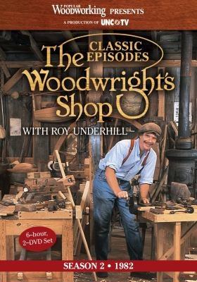 The Woodwright's Shop (Season 2): Roy Underhill's Classic Episodes on Handtools & Woodworking 9781440328459