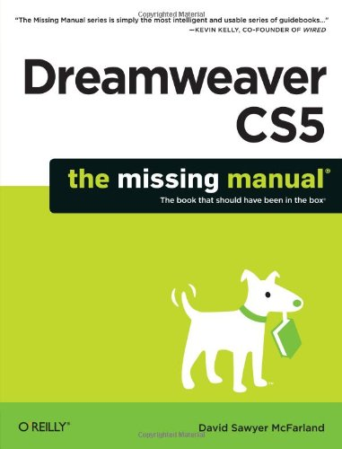 Dreamweaver Cs5: The Missing Manual 9781449381813