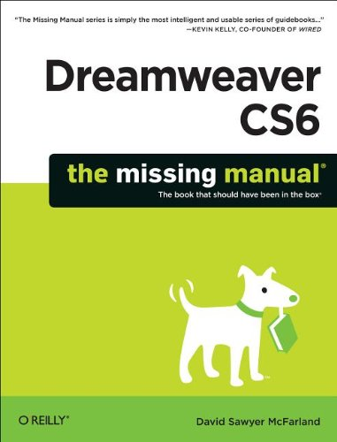 Dreamweaver CS6: The Missing Manual 9781449316174