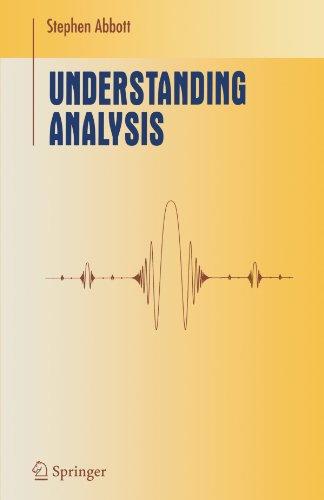 Understanding Analysis 9781441928665