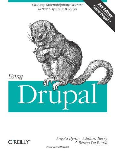 Using Drupal 9781449390525