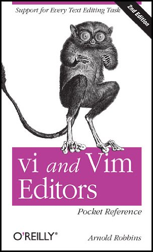 vi and Vim Editors Pocket Reference 9781449392178