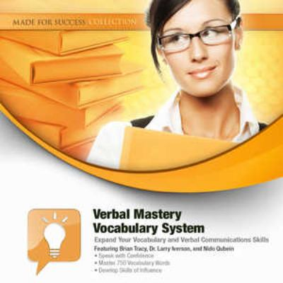 Verbal Mastery Vocabulary System: Expand Your Vocabulary and Verbal Communications Skills [With DVD] 9781441780713