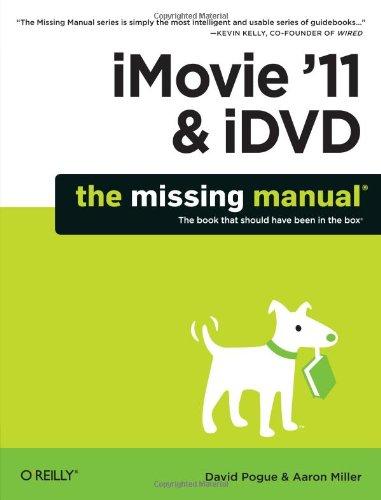 iMovie '11 & iDVD 9781449393274