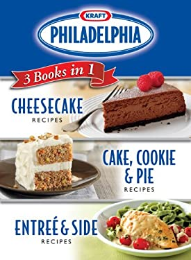 Kraft Philadelphia 3 Books in 1 Cookbook 9781450801386