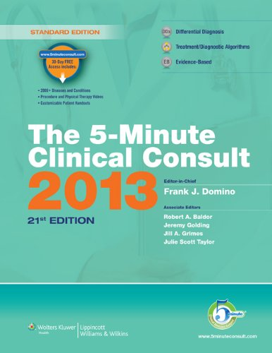 The 5-Minute Clinical Consult 9781451137354