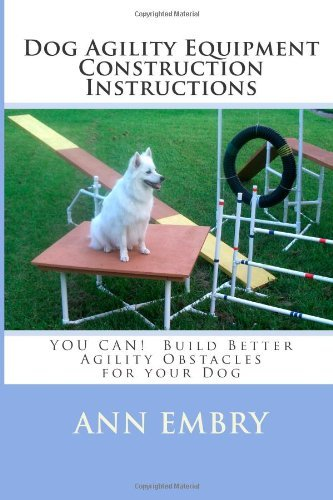 Dog Agility Equipment Construction Instructions