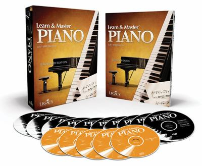 Learn & Master Piano, Standard Edition [With Lesson Book and 5 CDs and 10 DVDs and Access Code] 9781450721486