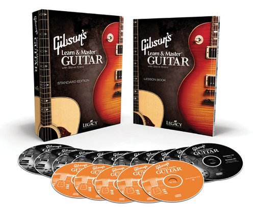 Gibson's Learn & Master Guitar, Standard Edition [With Lesson Book and 5 CDs and 10 DVDs] 9781450721493