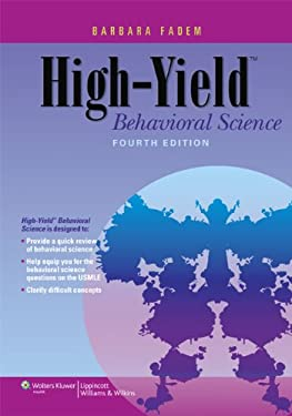 High-Yield Behavioral Science 9781451130300