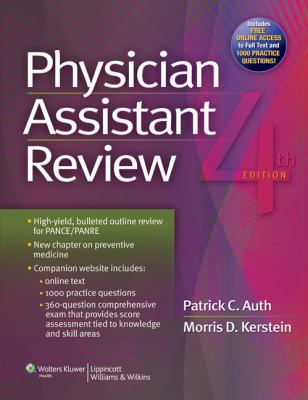 Physician Assistant Review 9781451144093