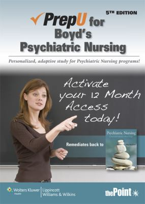 Prepu for Psychiatric Nursing: Contemporary Practice 9781451148893
