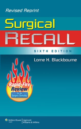Surgical Recall 9781451176414