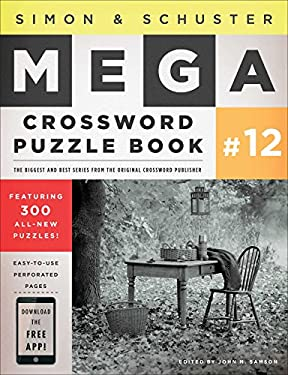 Simon & Schuster Mega Crossword Puzzle Book #12 9781451627404