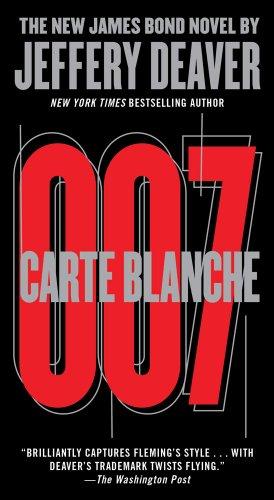Carte Blanche: The New James Bond Novel 9781451629354