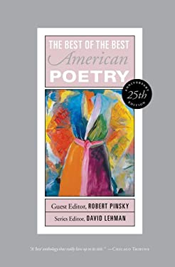 Best of the Best American Poetry: 25th Anniversary Edition 9781451658880