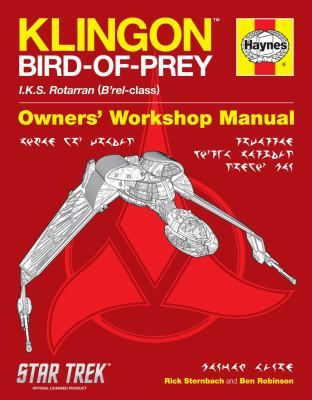 Star Trek: Klingon Bird of Prey Haynes Manual 9781451695908